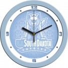 "South Dakota Coyotes 12"" Blue Wall Clock"