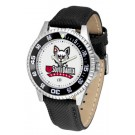 South Dakota Coyotes Competitor Men's Watch with Nylon / Leather Band