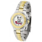 South Dakota Coyotes Competitor Ladies Watch with Two-Tone Band