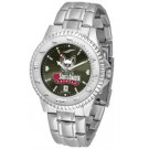 South Dakota Coyotes Competitor AnoChrome Men's Watch with Steel Band