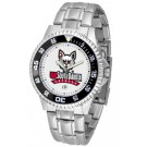 South Dakota Coyotes Competitor Men's Watch with Steel Band