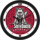 "South Dakota Coyotes 12"" Dimension Wall Clock"