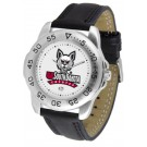 South Dakota Coyotes Men's Sport Watch with Leather Band
