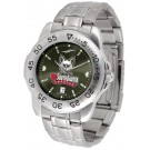 South Dakota Coyotes Sport Steel Band Ano-Chrome Men's Watch