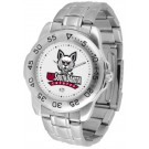 South Dakota Coyotes Sport Steel Band Men's Watch