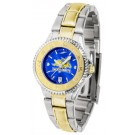 South Dakota State Jackrabbits Competitor AnoChrome Ladies Watch with Two-Tone Band