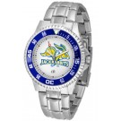 South Dakota State Jackrabbits Competitor Men's Watch with Steel Band