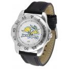 South Dakota State Jackrabbits Men's Sport Watch with Leather Band