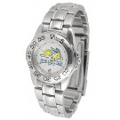 South Dakota State Jackrabbits Ladies Sport Watch with Stainless Steel Band