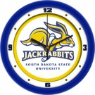 "South Dakota State Jackrabbits Traditional 12"" Wall Clock"