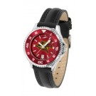 San Diego State Aztecs Competitor Ladies AnoChrome Watch with Leather Band and Colored Bezel