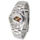 San Diego State Aztecs Gameday Sport Ladies' Watch with a Metal Band
