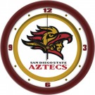 "San Diego State Aztecs Traditional 12"" Wall Clock"