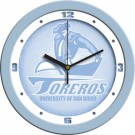 "San Diego Toreros 12"" Blue Wall Clock"