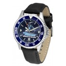 San Diego Toreros Competitor AnoChrome Men's Watch with Nylon/Leather Band and Colored Bezel