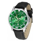 South Florida Bulls Competitor AnoChrome Men's Watch with Nylon/Leather Band and Colored Bezel