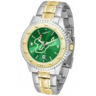 South Florida Bulls Competitor AnoChrome Two Tone Watch