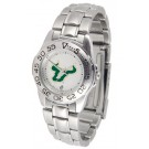 South Florida Bulls Gameday Sport Ladies' Watch with a Metal Band