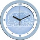 """Southern Illinois Salukis 12"""" Blue Wall Clock"""