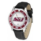 Southern Illinois Salukis Competitor Men's Watch with Nylon / Leather Band