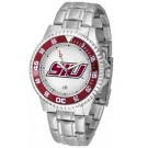 Southern Illinois Salukis Competitor Men's Watch with Steel Band