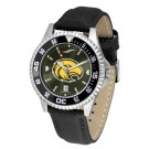 Southern Mississippi Golden Eagles Competitor AnoChrome Men's Watch with Nylon/Leather Band and Colored Bezel
