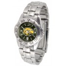 Southern Mississippi Golden Eagles Sport AnoChrome Ladies Watch with Steel Band