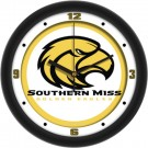 """Southern Mississippi Golden Eagles Traditional 12"""" Wall Clock"""