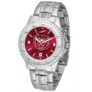 Missouri State University Bears Competitor AnoChrome Men's Watch with Steel Band