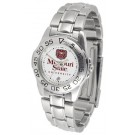 Missouri State University Bears Gameday Sport Ladies' Watch with a Metal Band