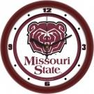 """Missouri State University Bears Traditional 12"""" Wall Clock"""