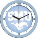 "Southern Methodist (SMU) Mustangs 12"" Blue Wall Clock"