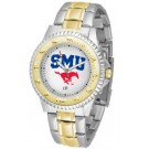 Southern Methodist (SMU) Mustangs Competitor Two Tone Watch