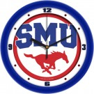 "Southern Methodist (SMU) Mustangs Traditional 12"" Wall Clock"