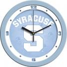 """Syracuse Orangemen 12"""" Blue Wall Clock"""