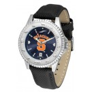 Syracuse Orangemen Competitor AnoChrome Men's Watch with Nylon/Leather Band