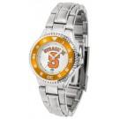 Syracuse Orange (Orangemen) Competitor Ladies Watch with Steel Band