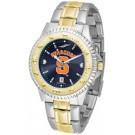 Syracuse Orangemen Competitor AnoChrome Two Tone Watch
