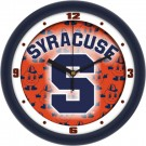 "Syracuse Orangemen 12"" Dimension Wall Clock"
