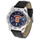 Syracuse Orangemen Sport AnoChrome Men's Watch with Leather Band