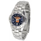 Syracuse Orangemen Sport AnoChrome Ladies Watch with Steel Band