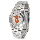 Syracuse Orangemen Gameday Sport Ladies' Watch with a Metal Band