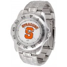 Syracuse Orangemen Sport Steel Band Men's Watch