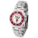 Texas A & M Aggies Competitor Ladies Watch with Steel Band