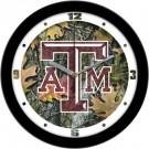 "Texas A & M Aggies 12"" Camo Wall Clock"