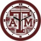"""Texas A & M Aggies 12"""" Dimension Wall Clock"""
