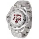 Texas A & M Aggies Sport Steel Band Men's Watch