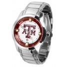 Texas A & M Aggies Titan Steel Watch