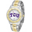 Texas Christian Horned Frogs Competitor Two Tone Watch