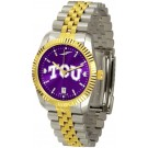 Texas Christian Horned Frogs Executive AnoChrome Men's Watch